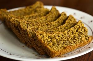 Turmeric Bread (vegan)